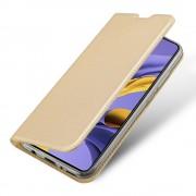 guld Slim flip etui Samsung A51 Mobil tilbehør