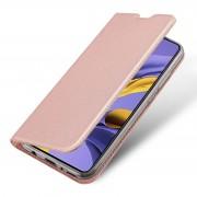 rosaguld Slim flip etui Samsung A51 Mobil tilbehør