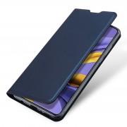 blå Slim flip etui Samsung A51 Mobil tilbehør