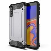 grå Forcell Armor case Galaxy A7 2018 Mobil tilbehør