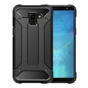 Viser Forcell armor case Galaxy J6 (2018) sort Mobil tilbehør