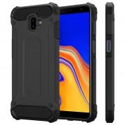 Viser Forcell armor case Galaxy J6+ (2018) sort Mobil tilbehør
