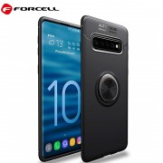Forcell ring case Samsung S10 sort Mobil tilbehør