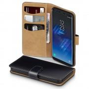Klassisk flip cover Samsung Galaxy S8 med kort lommer Mobiltilbehør