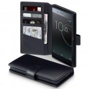 Flip cover ægte læder Sony Xperia XZ premium Mobilcovers