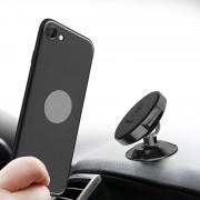 Elegant mobilholder magnetisk universal sort Bil tilbehør