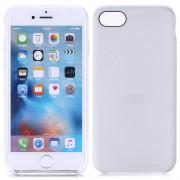 Iphone 7 cover tpu læder look hvid Mobiltelefon tilbehør