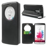 LG G3 cover med vindue og kort lomme Mobiltelefon tilbehør