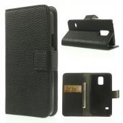 Flip cover med lommer Galaxy S5 mini sort Mobil tilbehør
