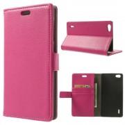 Til Huawei Honor 6 rosa etui med lommer Mobiltelefon tilbehør
