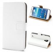 Samsung Galaxy S4 Mini cover i split læder hvid Mobiltelefon tilbehør