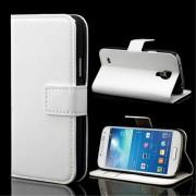 Samsung Galaxy S4 Mini cover med lommer hvid Mobiltelefon tilbehør