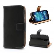 SAMSUNG GALAXY S4 cover m lommer sort Mobiltelefon tilbehør