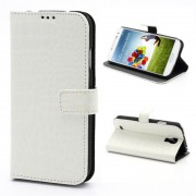 SAMSUNG GALAXY S4 cover m lommer hvid Mobiltelefon tilbehør