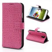 SAMSUNG GALAXY S4 cover m lommer rosa Mobiltelefon tilbehør