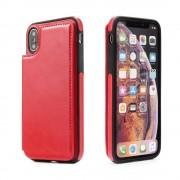 Iphone Xr rød wallet case Mobil tilbehør
