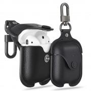 sort Airpods Oxford lædertaske Universal tilbehør