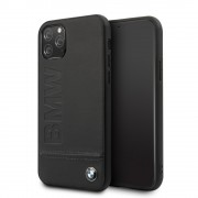 BMW hybrid læder case Iphone 11 Pro sort Mobil tilbehør
