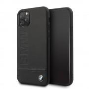 BMW læder hybrid case Iphone 11 sort Mobil tilbehør