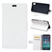 Klassisk flip cover hvid Iphone X Mobilcovers