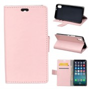 Klassisk flip cover pink Iphone X Mobilcovers