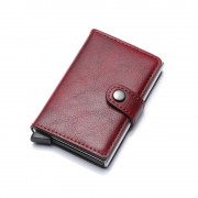rød RFID sikker kortholder - mini pung Universal tilbehør