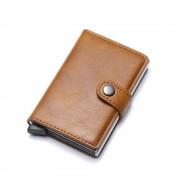 brun RFID sikker kortholder - mini pung Universal tilbehør