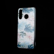 Almond Forcell marble case Huawei P30 Lite Mobil tilbehør