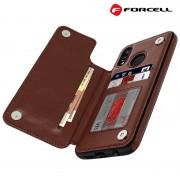 brun Forcell wallet case Huawei Mate 20 Lite Mobil tilbehør