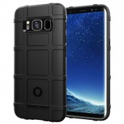 ViserGalaxy S8 Rugged shield case sort Mobil tilbehør