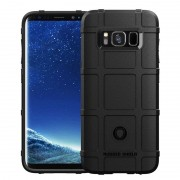 sort Rugged shield case Samsung S8 Mobil tilbehør