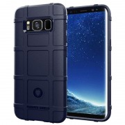 blå Rugged shield case Samsung S8 Mobil tilbehør