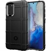 Rugged Shield case Samsung S20 sort Mobil tilbehør