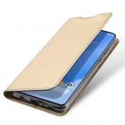 guld Slim flip etui Samsung A70 Mobil tilbehør