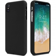 Iphone X cover i blød tpu sort Mobilcovers