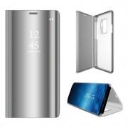 sølv Clear view mirror cover Samsung A7 (2018)