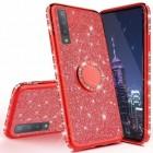 rød Diamond ring case Samsung A50 Mobil tilbehør