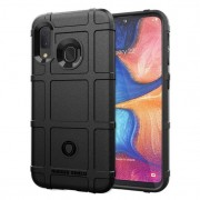 Rugged shield case Samsung A20e sort Mobil tilbehør