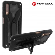 Forcell Phantom case Samsung A7 (2018) sort Mobil tilbehør