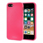 hot pink Style Lux cover Iphone SE Mobil tilbehør