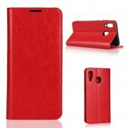 rød Flipcover m kortholdere Samsung A20e Mobil tilbehør