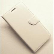 SAMSUNG GALAXY S7 EDGE læder cover med lommer, hvid Mobiltelefon tilbehør