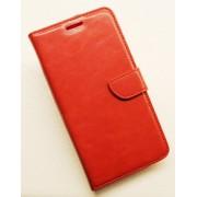 SAMSUNG GALAXY S7 EDGE læder cover med lommer, rød Mobiltelefon tilbehør
