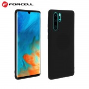 Forcell soft tpu case Huawei P30 Pro sort Mobil tilbehør