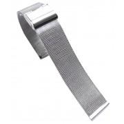 18 mm Mesh urrem sølv Smartwatch tilbehør