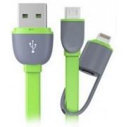 2 i 1 USB data og oplader kabel Mobiltelefon tilbehør