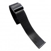 22 mm Mesh urrem sort Smartwatch tilbehør