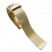 24 mm Mesh urrem guld Smartwatch tilbehør