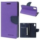 HTC DESIRE 626 Mercury goospery læder cover, lilla Mobiltelefon tilbehør