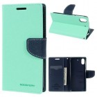 HTC DESIRE 626 Mercury goospery læder cover, lyseblå Mobiltelefon tilbehør